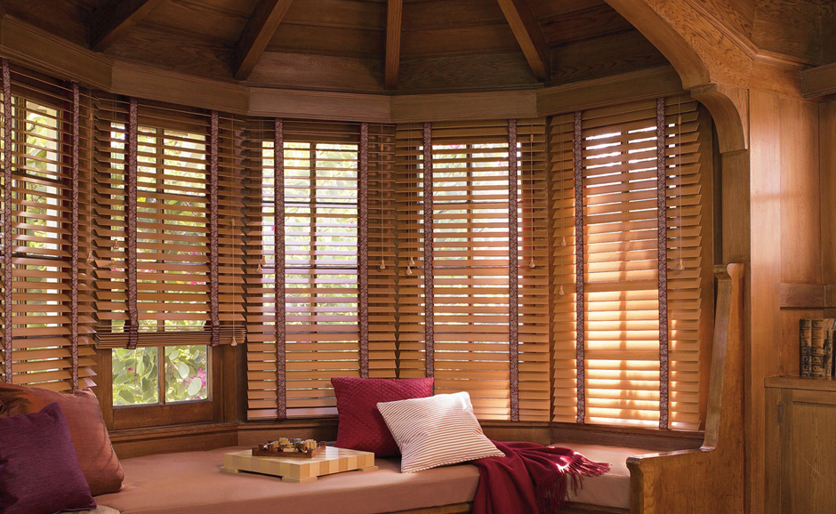 Northwest Window Coverings Wood Blinds