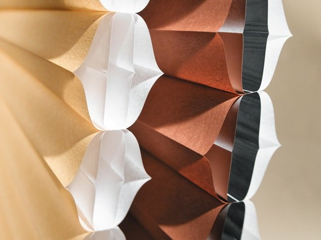 Duettes by Hunter Douglas and Northwest Window Coverings.